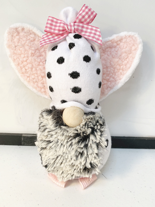 Easter bunny sock gnome
