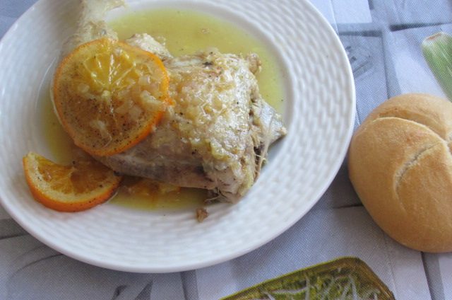 kurczak z pomarańczą