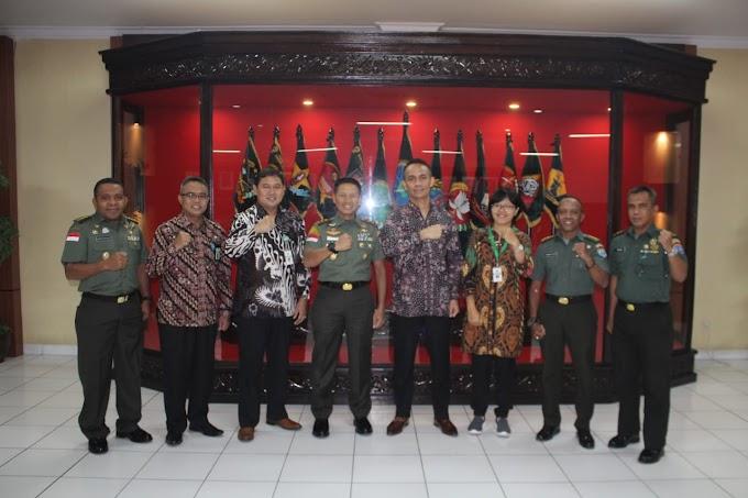 Pangdam XII/Tpr Terima Kunjungan Dari Kakanwil DJKN Kalimantan Barat