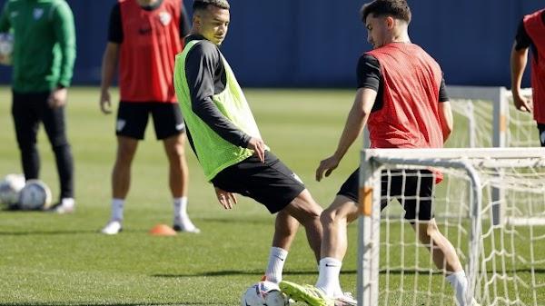 Málaga, 25 jugadores trabajaron en la vuelta al entrenamiento