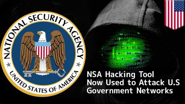Hackers agora usam a ferramenta da NSA  para atacar as redes do governo dos EUA
