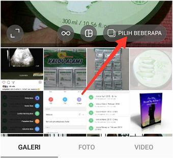 Upload banyak foto dan video ke Instagram di HP Android