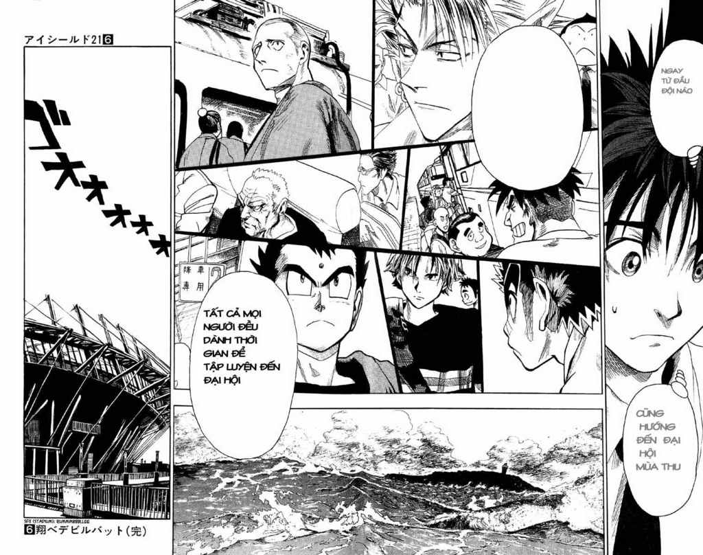Eyeshield 21 chapter 52 trang 18
