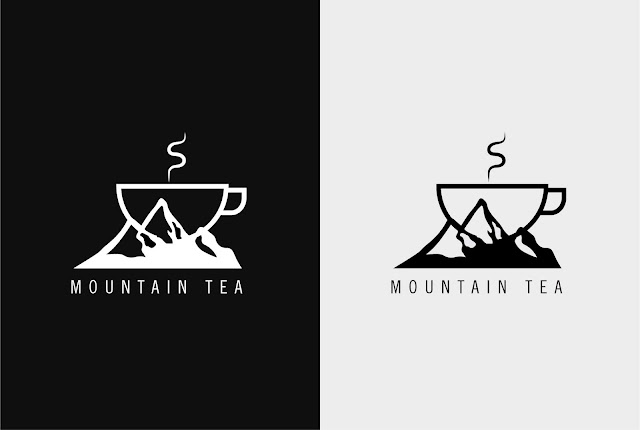 Mountain Tea Logo Design