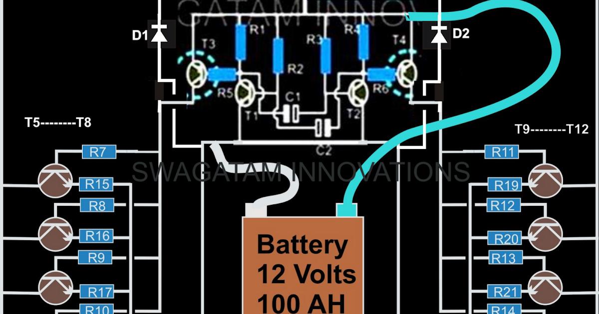 How to Make a Simple 200 VA Homemade Power Inverter ...