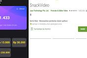 Download Aplikasi Snack Video Penghasil Uang, Begini Caranya!