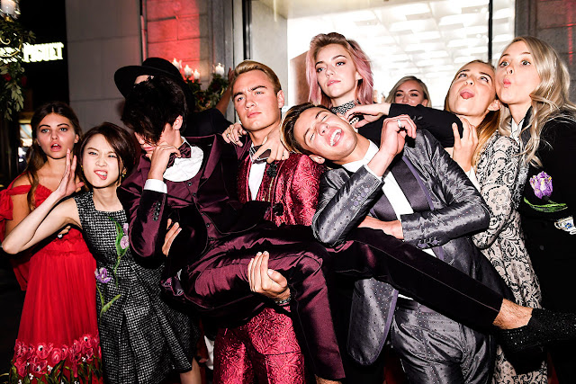 Thylane Blondeau, Pyper America Smith, Brandon Thomas Lee, Cameron Dallas, Isabel Getty, Dylan Jagge, Zhang Huiwen, Daisie Smith, Millenials, Dolce & Gabbana, Front Row