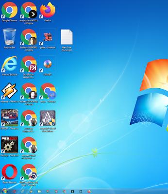 Cara Mengatasi Ukuran Icon Desktop Yang Berubah Menjadi Besar