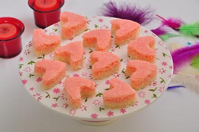 حلو جوز الهند الوردي - مطبخ منال العالم