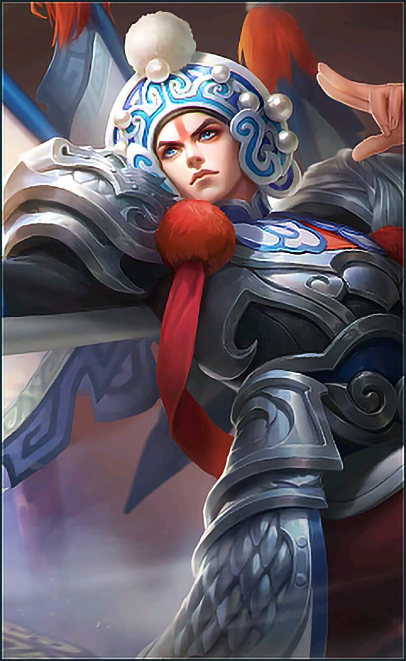 Wallpaper Zilong Changbanpo Commander Skin Mobile Legends HD for Android and iOS