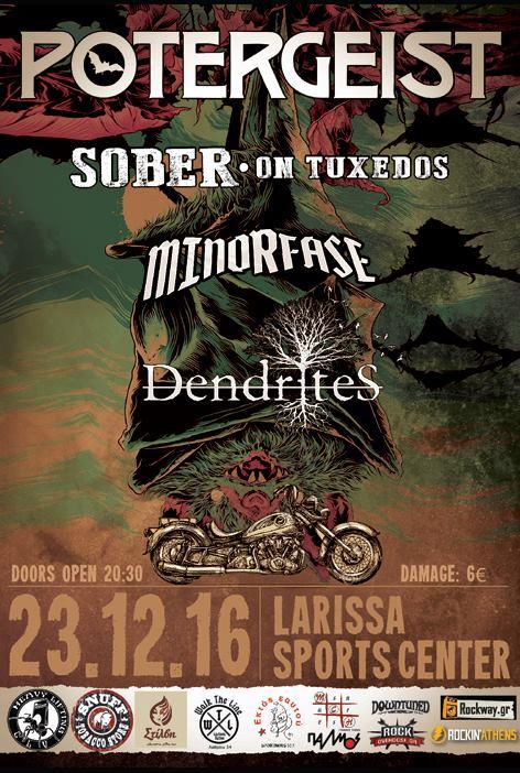 [News] Potergeist & Sober on Tuxedos live on tour 23-24/12