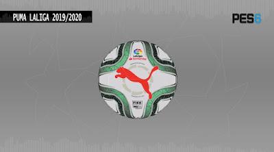 la liga new balls pes 6