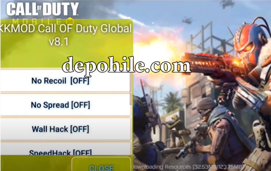 Call of Duty Mobile KAZİ Menu Çalışan Hile Rootsuz Apk 2021