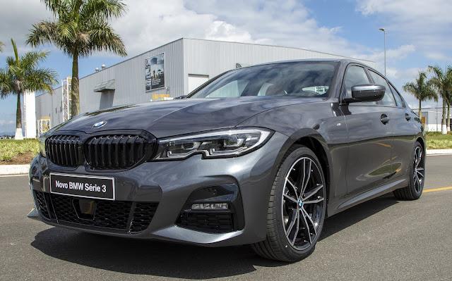 Novo BMW Série 3 é eleito carro do ano premium de 2019