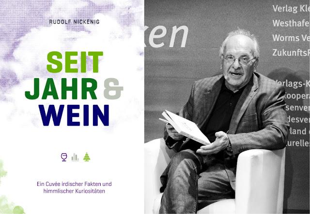 Dr. Rudolf Nickenig, Buchautor und Generalsekretär des Deutschen Weinbauverbandes