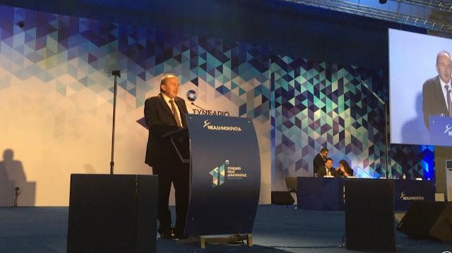Δ. Κρανιάς στο 11ο Συνέδριο της Νέας Δημοκρατίας: Η κοινωνία περιμένει από εμάς να ακούσει συγκεκριμένη προοπτική για το αύριο