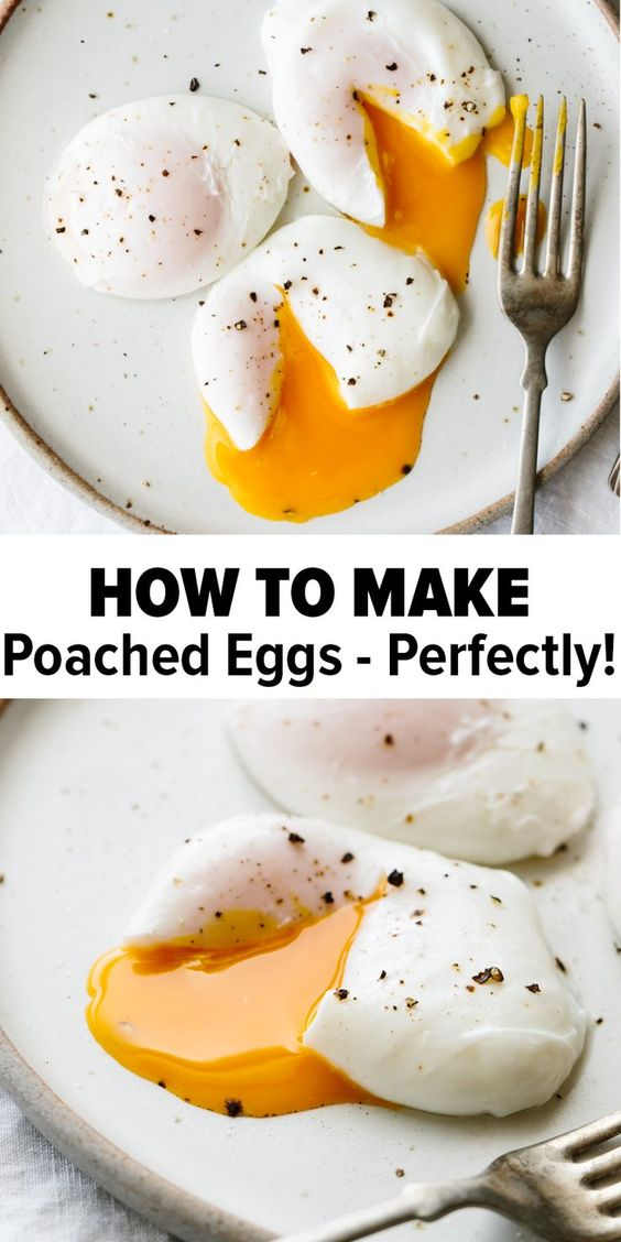 POACHED EGGS: HOW TO POACH AN EGG PERFECTLY #recipes #healthybreakfast #breakfastrecipes #healthybreakfastrecipes #food #foodporn #healthy #yummy #instafood #foodie #delicious #dinner #breakfast #dessert #lunch #vegan #cake #eatclean #homemade #diet #healthyfood #cleaneating #foodstagram
