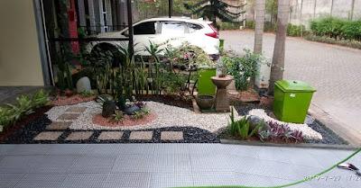 15 Gambar Desain Taman Kering Indoor Outdoor Praktis