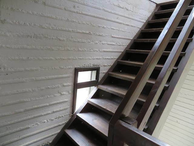Yllättävän ketterästi taittui näköalatornin portaat ylös asti raskausviikolla 29