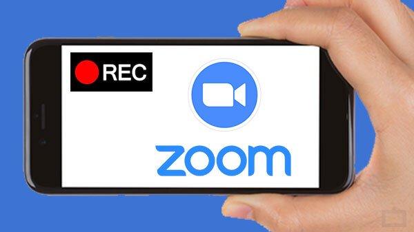 كيفية تسجيل اجتماعات  زوم وحفظها على هاتفك الاندرويد