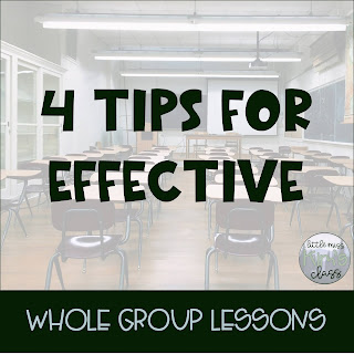 Tips for Effective Whole Group Lessons in Special Education