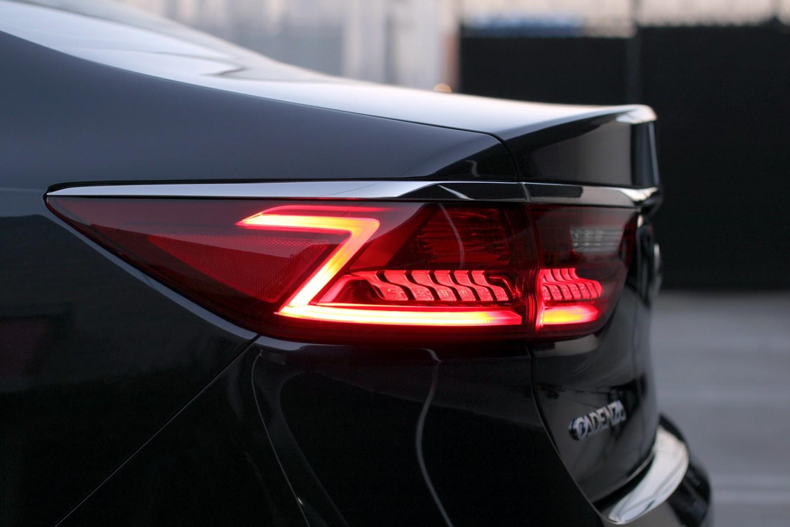 Đánh giá xe Kia Cadenza 2017