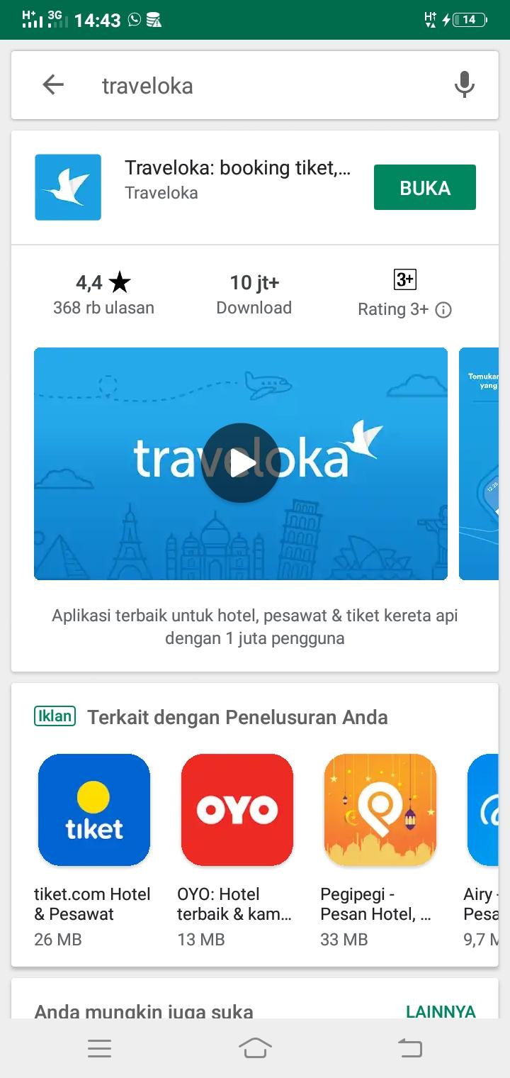 Cara Booking Tiket Pesawat di Traveloka Secara Online