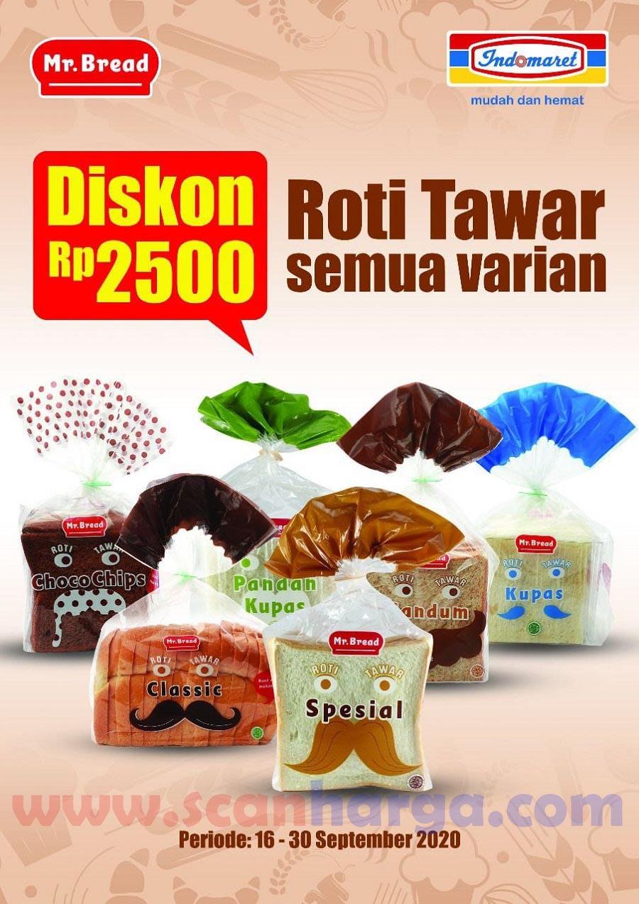 Mr Bread Promo Harga Spesial Roti Tawar Semua Varian Diskon Rp 2.500