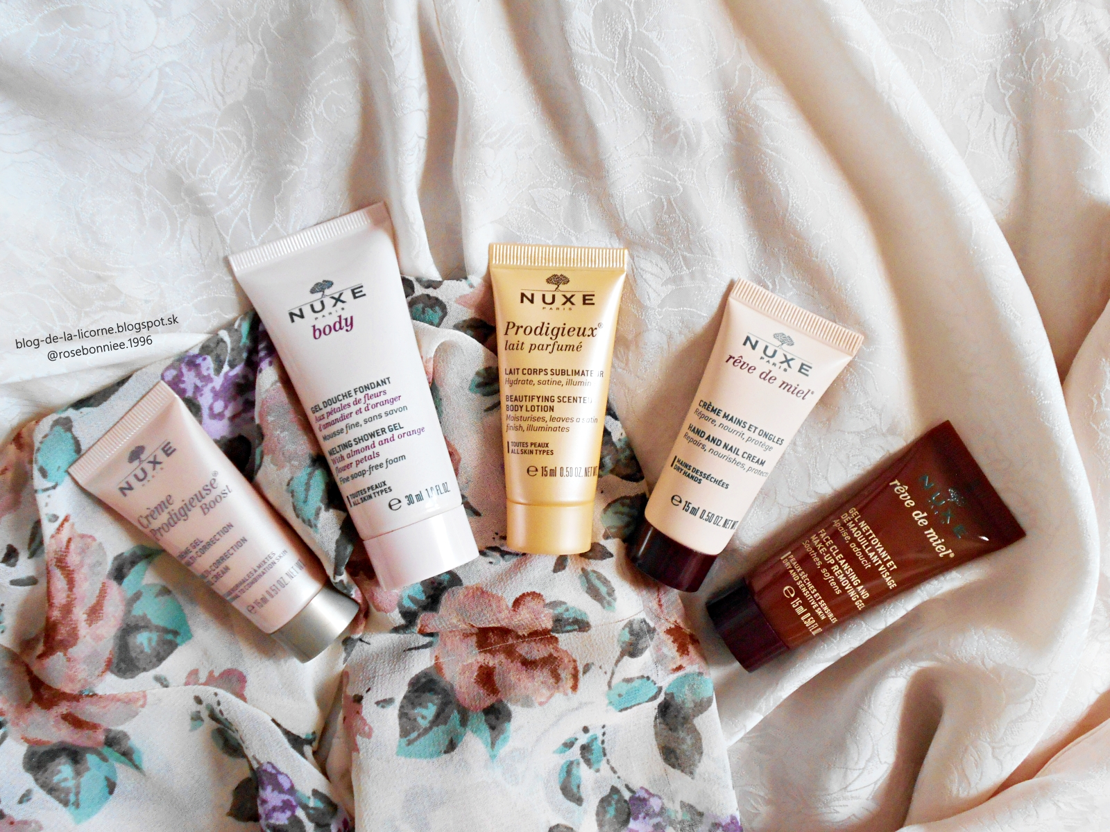 Nuxe Crème Prodigieuse Boost My Beauty Essentials