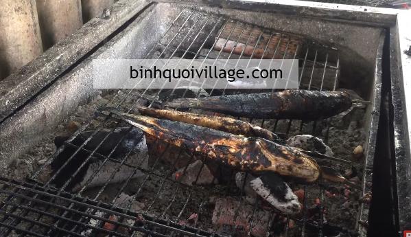 Cách nướng cá lóc bằng than