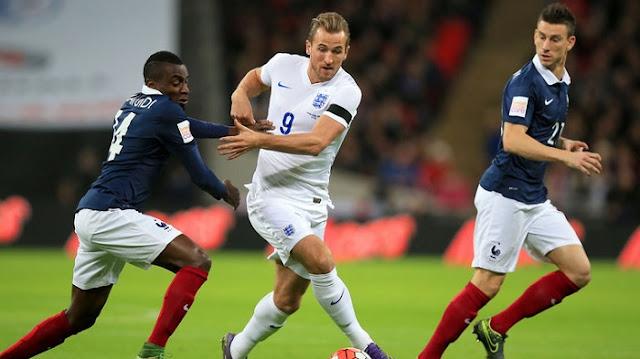 Francia vs Inglaterra en vivo