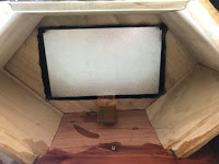 Screen installed
