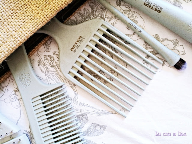Natural Fiber beauty accesorios biodegradables Beter cabello haircare makeup maquillaje brush brochas
