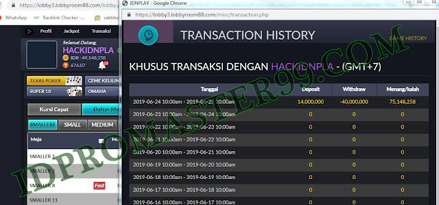 Cheat BandarQ Program ID PRO MASTER 99% Win Akses Disini !