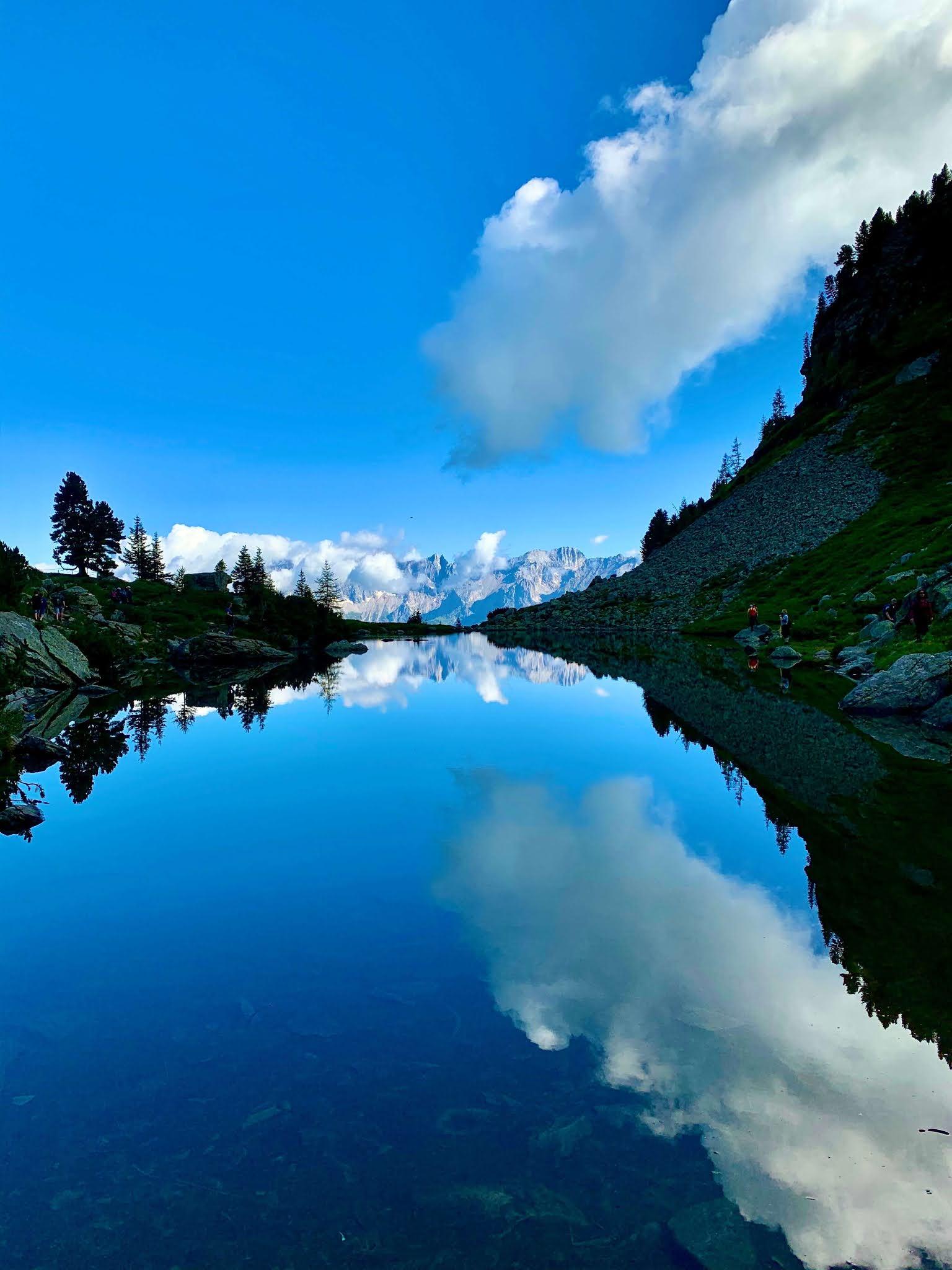Spiegelsee Wanderung