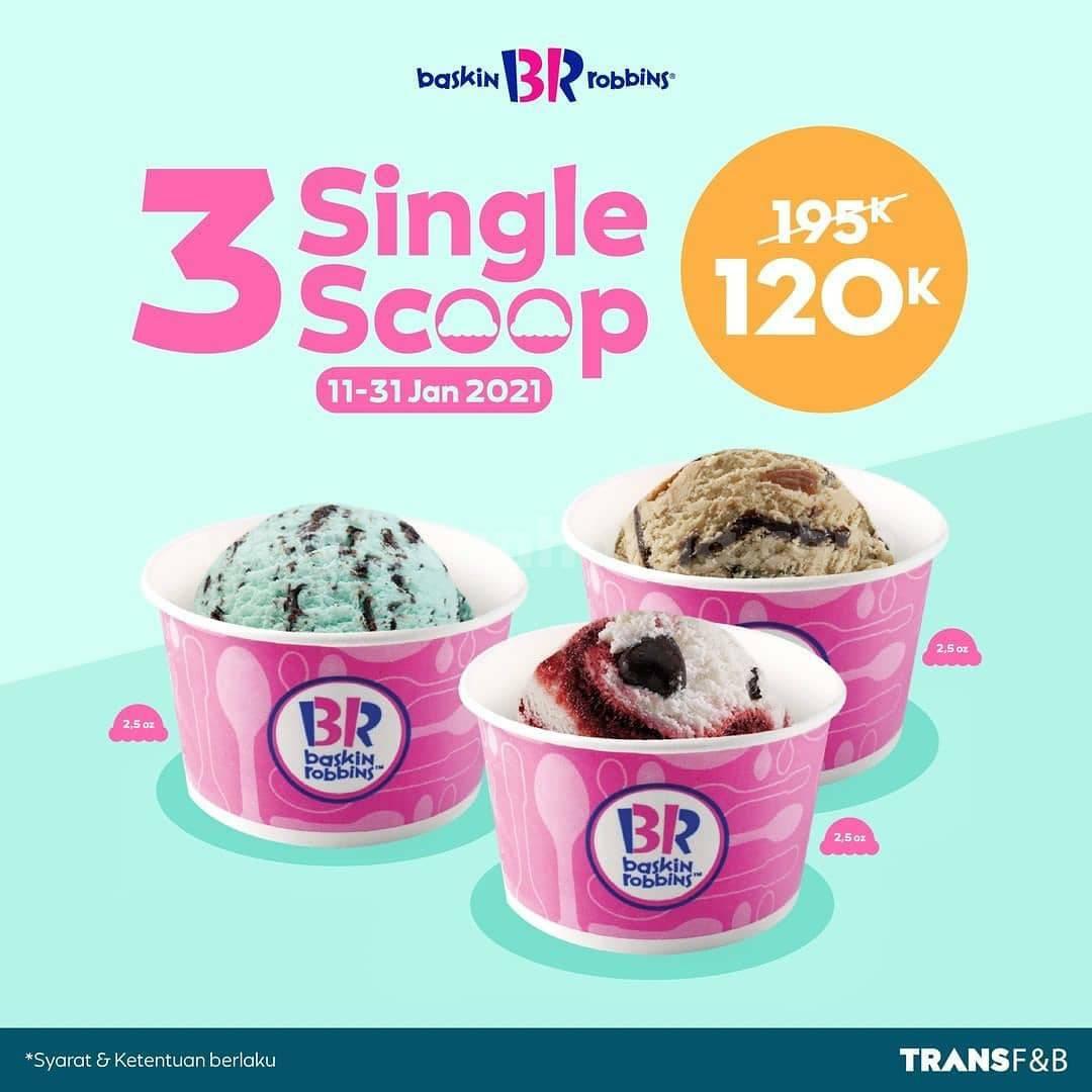 Promo Baskin Robbins Terbaru 11 - 31 Januari 2021