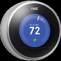blue thermostat