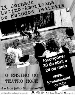 IX Jornada Latino Americana de Estudos Teatrais