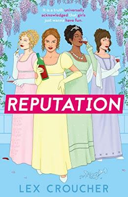 Reputation by Lex Croucher regency romance book cover