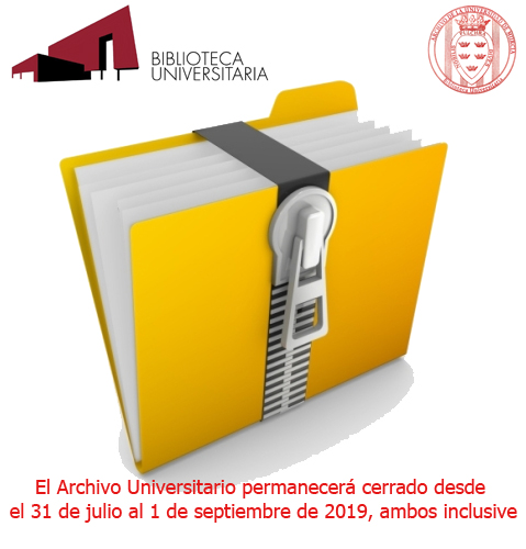 Archivo cerrado del 31 al 1 de septiembre 2019