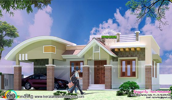 1001 square feet one floor house