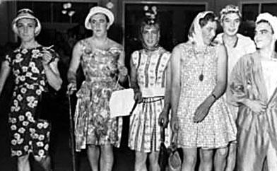 Ladylike gents, circa 1962