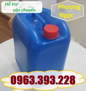 Can nhựa 10L có nắp chống tràn, can nhựa đựng hóa chất 10 Lít, can nhựa dày 10L A3acf9ae01affcf1a5be