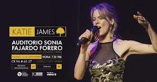Concierto de KATIE JAMES en Bogotá POS1