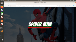 image overlay effect using html and css