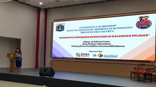 Talkshow dan Workshop Guru BK DKI Jakarta