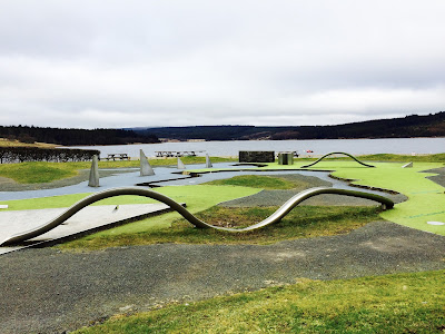 6 Family Things to do at Kielder - Guest Post by Rural Teacake, Mapping Golf