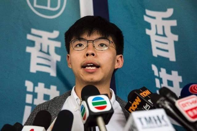 Joshua Wong: Chúng tôi khát khao một ngày Hồng Kông thoát khỏi độc tài