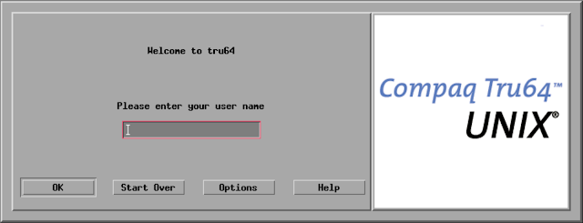 Supratim Sanyal's Blog: Tru64 Unix CDE (Common Desktop Environmrnt) login screen