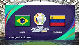 مباراة البرازيل وفنزويلا في افتتاح كوبا أمريكا